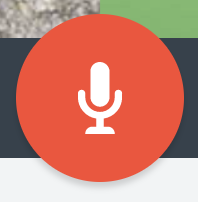Illustration of the Narration Button in the Canvas