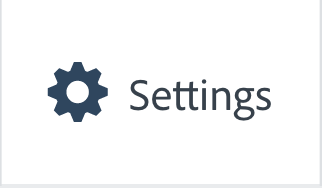 """Illustration of the """"Settings"""" Button"""